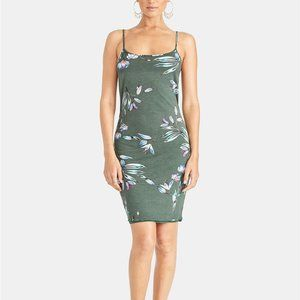 RACHEL Rachel Roy  Lourdes Twist-Back Floral Dress